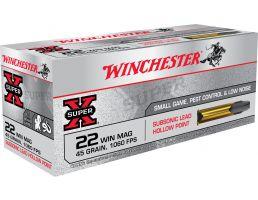 Winchester Ammunition Super-X 45 gr Jacketed Hollow Point .22 WMR Ammo, 50/box - X22MSUB