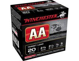 """Winchester Ammunition AA 2.75"""" 20 Gauge Ammo 9, 25/box - AA209"""