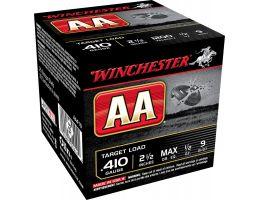 """Winchester Ammunition AA 2.5"""" 410 Gauge Ammo 9, 25/box - AA419"""