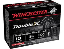 "Winchester Ammunition Double X 3.5"" 10 Gauge Ammo 4, 10/box - STH104"