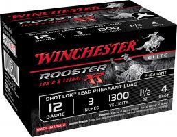 "Winchester Ammunition Rooster XR 3"" 12 Gauge Ammo 4, 15/box - SRXR1234"
