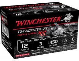 "Winchester Ammunition Rooster XR 3"" 12 Gauge Ammo 6, 15/box - SRXR123HV6"