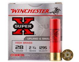 """Winchester Ammunition Super-X High Brass 2.75"""" 28 Gauge Ammo 5, 25/box - X285"""