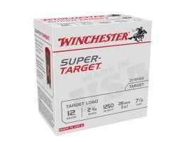 "Winchester Ammunition Super Target 2.75"" 12 Gauge Ammo 7-1/2 - TRGT12507"