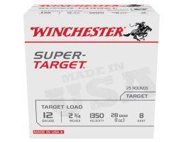 "Winchester Ammunition Super Target 2.75"" 12 Gauge Ammo 8 - TRGT13508"