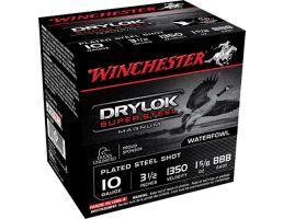 "Winchester Ammunition Drylock Super Steel Magnum 3.5"" 10 Gauge Ammo BBB, 25/box - XSC10BBB"