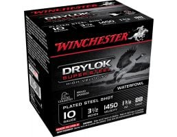 "Winchester Ammunition Drylock Super Steel 3.5"" 10 Gauge Ammo BB, 25/box - SSH10BB"