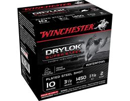 "Winchester Ammunition Drylock Super Steel 3.5"" 10 Gauge Ammo 2, 25/box - SSH102"