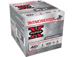 "Winchester Ammunition Super-X 3"" 410 Gauge Ammo 6, 25/box - WE413GT6"