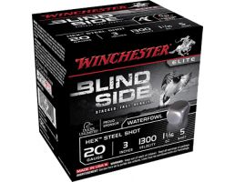 "Winchester Ammunition Blindside 3"" 20 Gauge Ammo 5, 25/box - SBS2035"