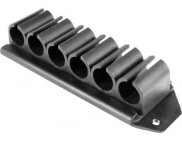 Aim Sports Side Shell Carrier Kit for Remington 870 Shotgun, Smooth Black - MR6RK