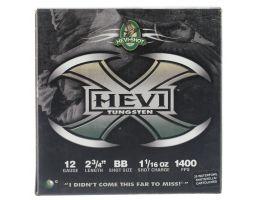 "Hevi-Shot Hevi-X 2.75"" 12 Gauge Ammo BB, 25/box - 50278"