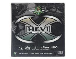 "Hevi-Shot Hevi-X 3.5"" 12 Gauge Ammo 2, 25/box - 50352"