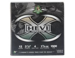 "Hevi-Shot Hevi-X 3.5"" 12 Gauge Ammo 4, 25/box - 50354"