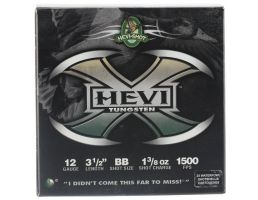 "Hevi-Shot Hevi-X 3.5"" 12 Gauge Ammo BB, 25/box - 50358"