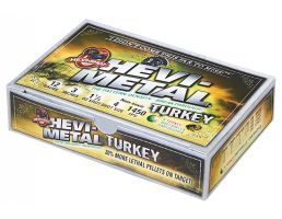 "Hevi-Shot Hevi-Metal Turkey 3"" 12 Gauge Ammo 4, 6, 5/box - 30045"