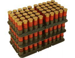 MTM Case Gard 20 Gauge 50 Round Shotshell Tray, Black - ST-20-40