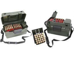 MTM Case Gard 12 Gauge 100 Round Hunter Box, Wild Camo - SH1001209