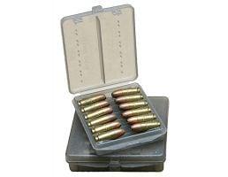 MTM Case Gard .45 ACP 18 Round Ammo Wallet, Clear Smoke - W18-45-41