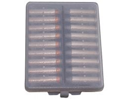 MTM Case Gard .380/9mm Cal 18 Round Ammo Wallet, Clear Smoke - W18-9-41