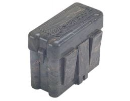 MTM Case Gard RL-20 20 Round Flip-Top, Large Belt Carrier Box, Green - RL2010
