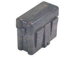 MTM Case Gard RS-20 20 Round Flip-Top, Small Belt Carrier Box, Green - RS2010