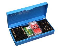 MTM Case Gard SB-200 Ammo Box w/ Handle, Blue - SB20020