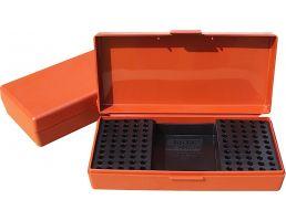 MTM Case Gard SB-200 Ammo Box w/ Handle, Rust - SB20032