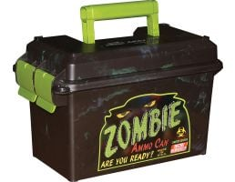 MTM Case Gard Zombie .50 Polypropylene Plastic Ammo Can, Zombie Green/Black - AC50Z