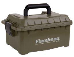 Flambeau 12/20 Gauge Water-Resistant Shotshell Ammo Can, Tan - 7415SB
