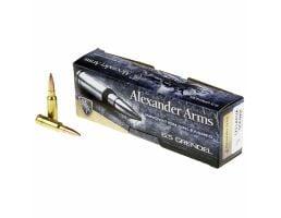 Alexander Arms 123 gr LSHP .6.5 Grendel Ammo, 20/box - AG123LSBOX