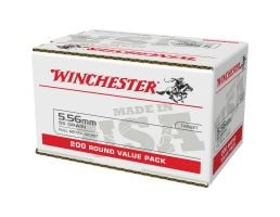 Winchester Ammo WM193200 5.56 NATO 55 gr Full Metal Jacket 200rd