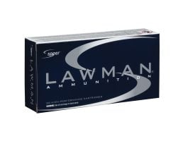 Speer Lawman 125 gr TMJ Frangible .40 S&W Ammo - 53375