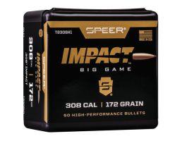 Speer .30 172 gr Impact Rifle Bullet, 50/pack - TB308H1