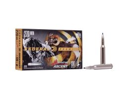 Federal 136 gr Terminal Ascent .270 Win Ammo, 20/pack - P270TA1