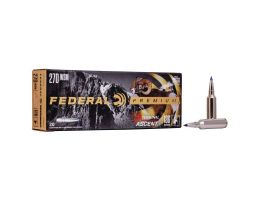 Federal 136 gr Terminal Ascent .270 WSM Ammo, 20/pack - P270WSMTA1