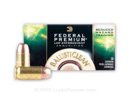 Federal BallistiClean 45ACP 155gr Frangible Ammunition, 50rds - BC45CT1