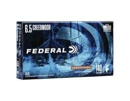 Federal PowerShok 140 gr JSP 6.5 Crd Ammo, 20/pack - 65CRDB
