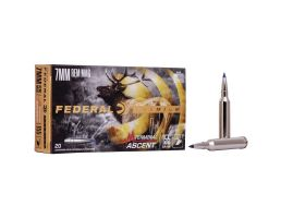 Federal 155 gr Terminal Ascent 7mm Rem Mag Ammo, 20/pack - P7RTA1