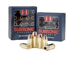 Hornady Subsonic 180 gr XTPHP .40 S&W Ammo, 20/box - 91369