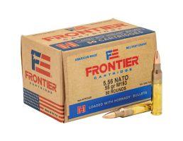 Hornady Frontier 55 gr FMJ 5.56 Ammo, 50/box - FR2005