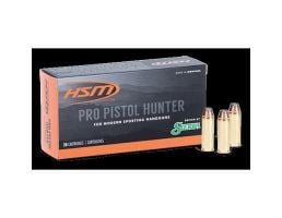 HSM Ammunition Pro Pistol 300 gr JSP .45 LC Ammo, 20/pack - HSM-45C-9-N-20