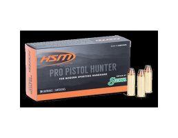HSM Ammunition Pro Pistol 400 gr JSP .500 S&W Mag Ammo, 50/pack - HSM-500SW-9-N