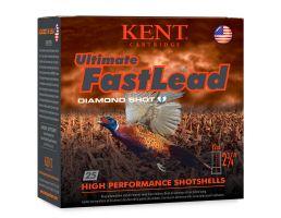 "Kent Cartridge Ultimate Fast Lead 2 3/4"" 12 Gauge Ammo #5, 25/Box - K122UFL405"