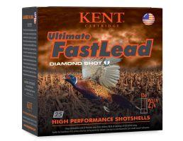"Kent Cartridge Ultimate Fast Lead 2 3/4"" 12 Gauge Ammo #7.5, 25/Box - K122UFL3675"