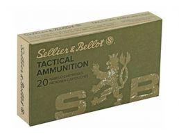 Sellier & Bellot Tactical 5.56 55gr FMJ Ammunition, 20rds - SB556A