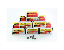 """Traditions Firearms .44 140 gr 0.454"""" Lead Round Ball, 100/pack - A1642"""
