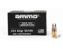 Ammo Inc. Signature 62 gr FMJ .223 Remington SS109 Ammunition, 200rd Pack - 223062SS109-A200