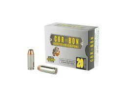 CorBon Self Defense 10mm Ammo 165 Grain JHP, 20 rds/box - 10165