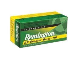Remington 22 Golden Bullet 36 gr HP .22lr Rimfire Ammo, 1400/box - 21231